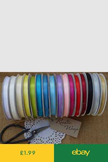1 4 Grosgrain Ribbon Solid Color You Pick Color Lot 50 Y