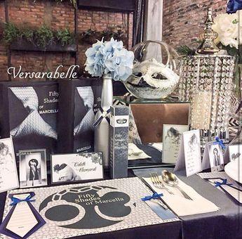 fifty shades of grey bridal theme bridalshower 50shadesofgreytheme