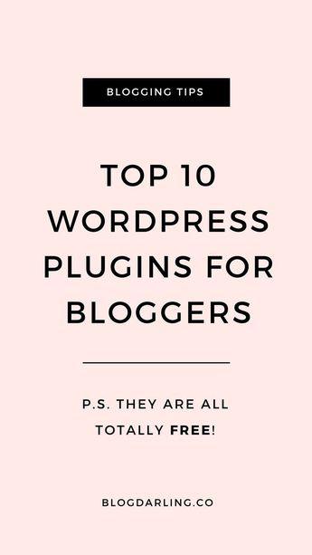 10 Best WordPress Plugins for Bloggers - Blogging Her Way