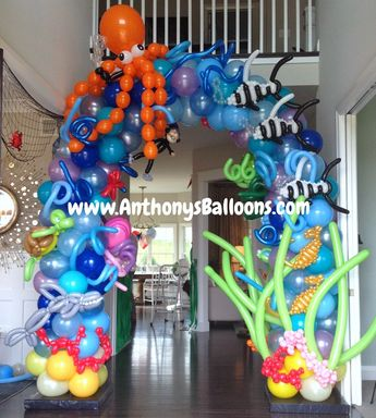 Great for Graduations, Grand Openings, Baby Showers, & more. We provide custom balloon decor at competitive prices!