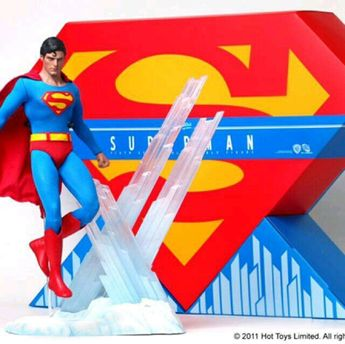 1/6 Hot toys Superman normal Christopher Reeve MMS152 #HotToys