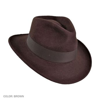 aaf2b6d212323 Ford Crushable Wool Felt Fedora Hat