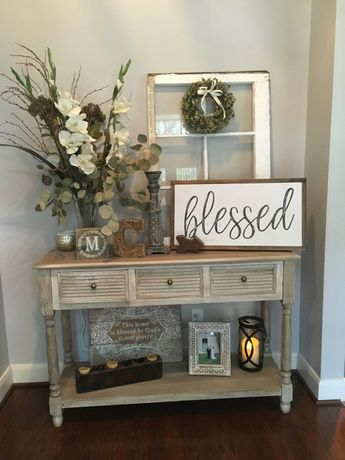 Blessed framed wood sign by KeepingMc on Etsy