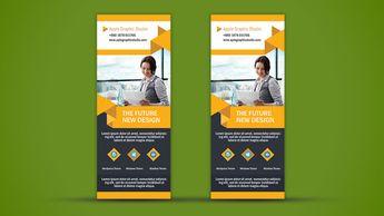 Business Roll Up Banner Design - Photoshop Tutorial - Apple Graphic Studio