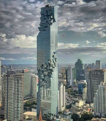 Mahanakhon, the New Art Design Skyscraper of Bangkok