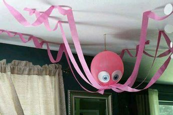 Okul öncesi balon süsleme Balondan hayvan yapımı  Kağıtla balon süsleme  Süslü balonlar