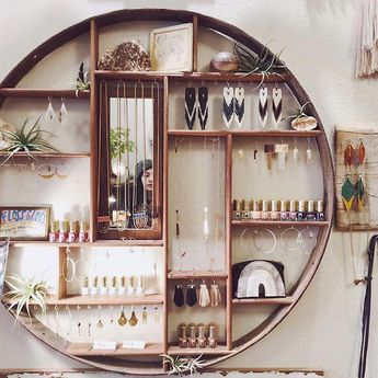Wall Hanging Jewelry Box | Jewelry Organizer Tree Stand | Hanging Jewelry Holder Organizer 20190427