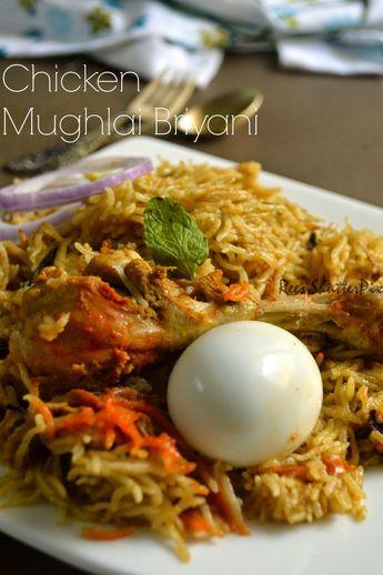 Delectable Flavours: Chicken Mughlai Briyani Recipe   Chicken Recipes