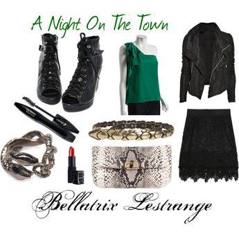Slytherin Bellatrix fashion