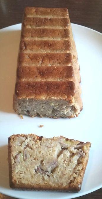 Cake bananes, flocons d'avoine ww - La cuisine de gigi