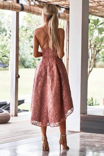 Marilyn Dress - Mauve