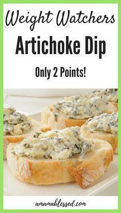 2 Point Artichoke Dip