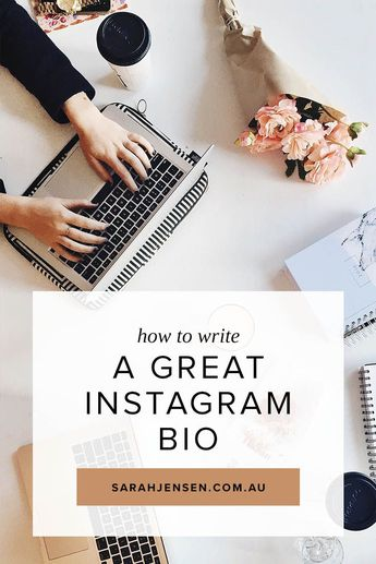 Instagram for Business – Write a Great Bio: A well-crafted Instagram bio will let your personality shine through so your dream clients can connect with you on a more human level. Here's 7 tips for creating a bio that converts.... #socialmedia #socialmediatips #Instagram #Instagramtips #marketing #entrepreneur #coachingtips