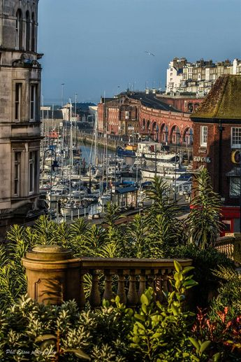 Ramsgate at its best, a beautiful coast line town with its Royal harbour.