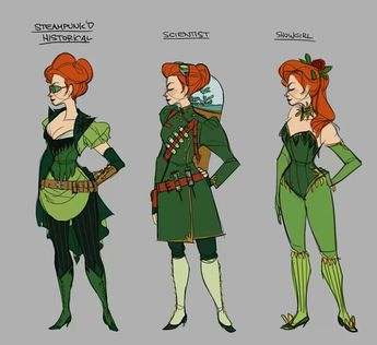 Claire Hummel, poison ivy