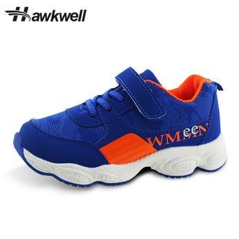 buy popular a2930 c3ea1 Hawkwell Kids Sports Shoes Hook and Loop School Uniform Sneaker Boys Girl  Athlet  fashion