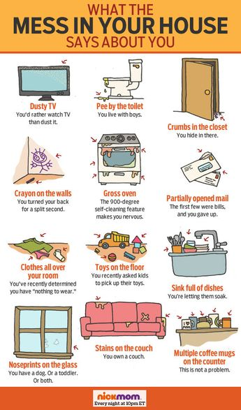 What Your Messy House Says About You