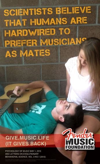 #Musiceducation matters because music is life - sometimes literally.