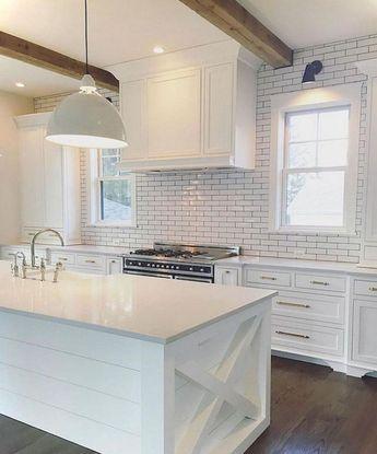 55+ TOP MODERN FARMHOUSE KITCHEN DESIGN IDEAS – Decorating Ideas - Home Decor Ideas and Tips