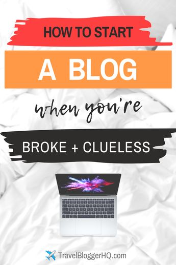 How to Start a Profitable Blog!