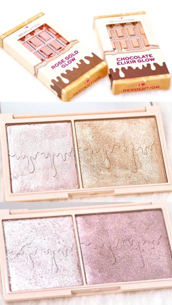 I Heart Revolution Glow Highlighter Palettes