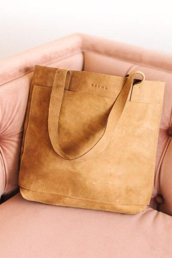 bcbf65b6a7 Large Leather Tote Bag   Extra Long Hand Stitched Leather