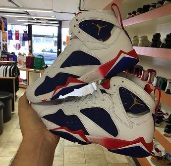 buy online d04e3 543ea Air Jordan Retro 7 s Olympics Infant Toddler Preschool Size 4C-3Y