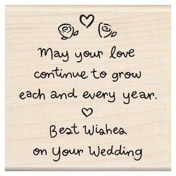 Good Luck Wedding Quotes Love