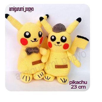 @amigurumi_popyo sayfasindan sipariş verebilirsiniz.Pikachu lar hazır Var mi isteyen? İster...  @amigurumi_popyo sayfasindan sipariş verebilirsiniz.Pikachu lar hazır Var mi isteyen? İster hazır alın ister KİT olarak alın  kolayca kendiniz örün. Görsellerimin kullanilmasina izin vermiyorum  KAYDIRMALI POST  Sipariş alınır.  Kargo Bedava  K.Karti geçerlidir.  Hassas programda yıkanabilir.  Ömürlük sağlıklı oyuncaklar  #crochetaddict#yarn#crocheted#ilovecrochet#crochetlove#crocheting#instacrochet#c