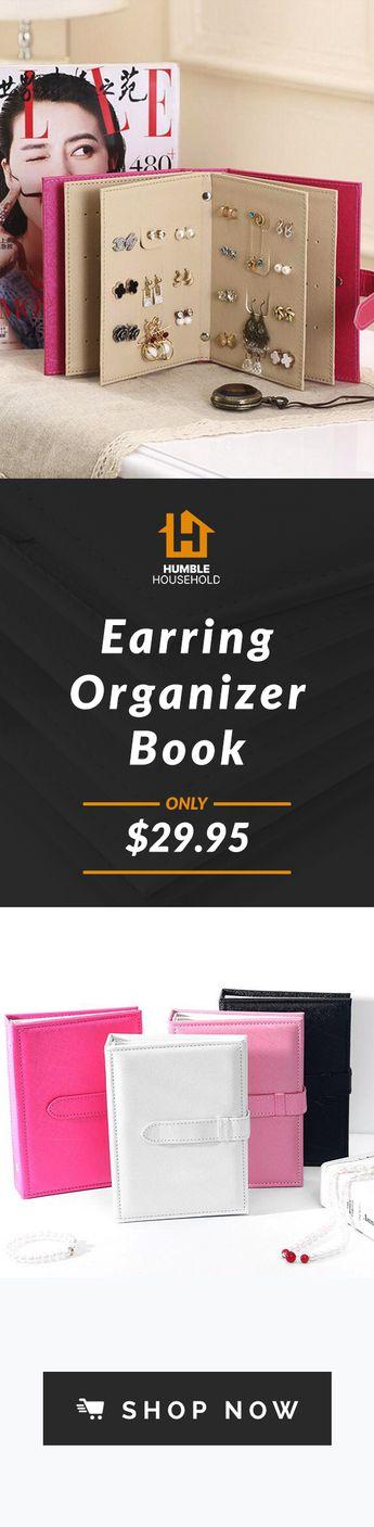 Earring Organizer Book