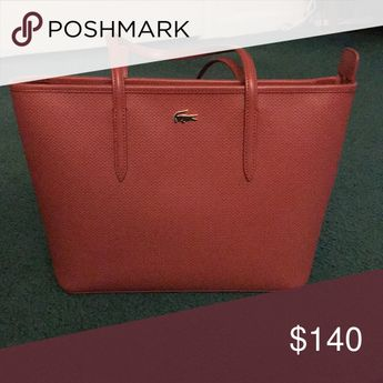 c86d797d862 Lacoste Leather Purse New Lacoste leather bag only worn once, no scratches,  dirt or
