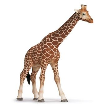 Schleich Female Giraffe Figurine, Multicolor