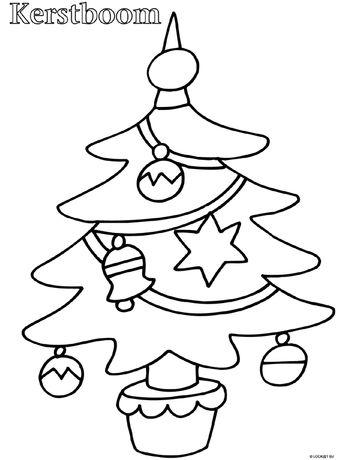 List Of Pinterest Kleurplaat Kerstboom Pictures Pinterest