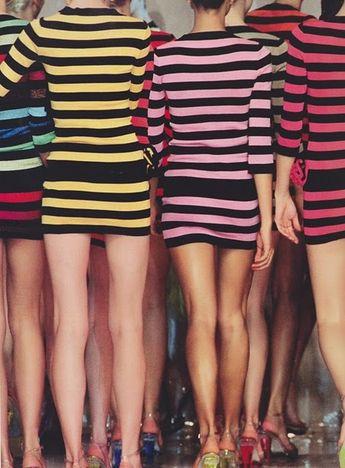 bright stripes + minis