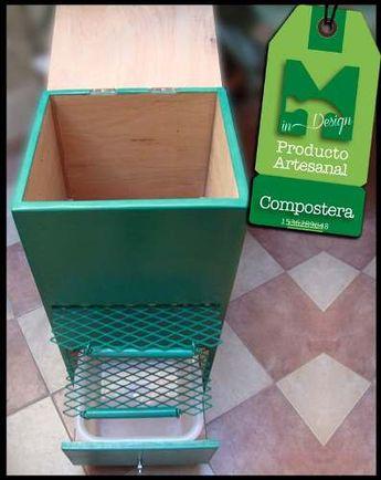 Compostera Reciclador De Residuos Orgánicos Hammer Indesign