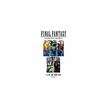 Final Fantasy Ultimania Archive : X, XI, Xii, Xiii, Xiv - (Hardcover)