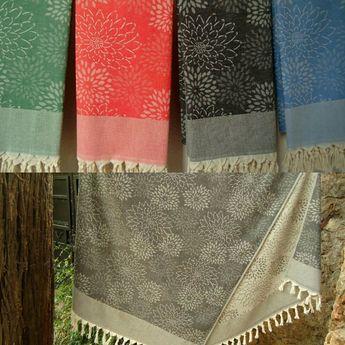 Traditional Turkish Towel Made From 100 Turkish Naturel U