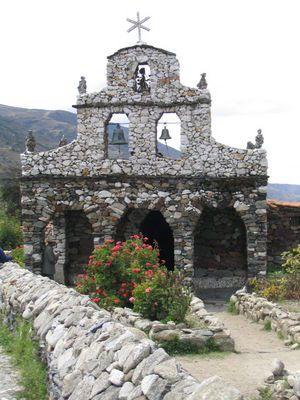 A stone church built by Juan Felix Sanchez in San Rafael de Mucuchies, just outside Mérida. Venezuela