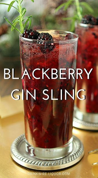 Gin Lovers, You Need this Blackberry Beauty