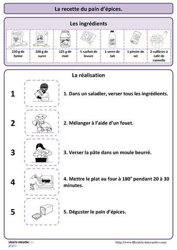 Id En Vrac Pour L Ecole Recette Des Crepes