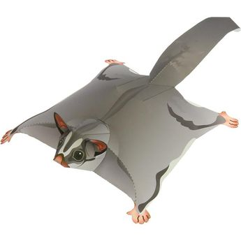 Sugar Glider,Animals,Paper Craft,Mammals ,Marsupial,Animals,Paper Craft,flying squirrel,Pet series,easy,easy