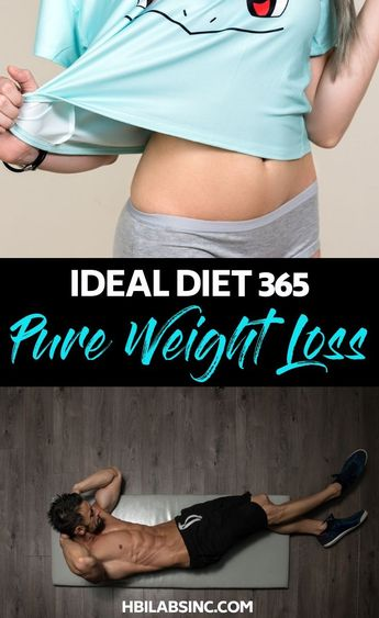 Ideal Diet 365 Pure Weight Loss for Weight Management