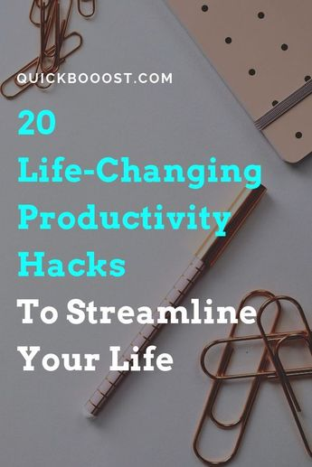 20 Smart Productivity Hacks I Used To Become 400% More Productive