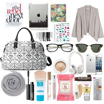 """""""Carry-on Essentials"""" by mandujanoblanca on Polyvore"""