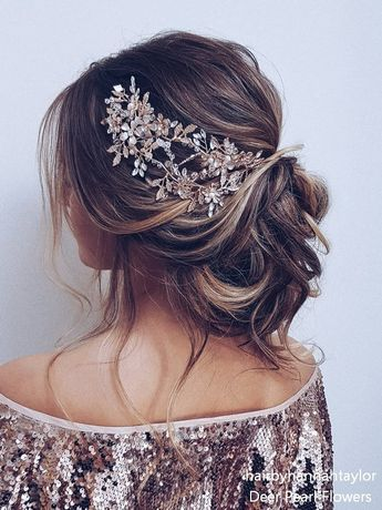 Long wedding hairstyles and updos from hairbyhannahtaylor #weddings #weddingideas #weddinghairstyles #hairstyles #dpf #deerpearlflowers