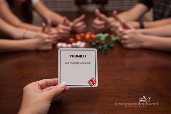 photograph regarding 77 Ways to Play Tenzi Printable named TENZI Card Deck