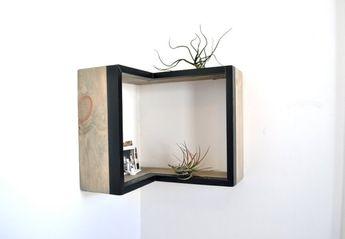 Umbra Cubist Wandrek : Buy umbra cubist wall shelf natural beech black large