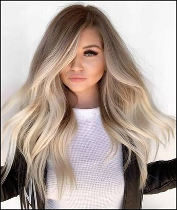 110+ medium to long hair styles - ombre balayage hairstyles for women 2019 - page 14 ~ producttall.com