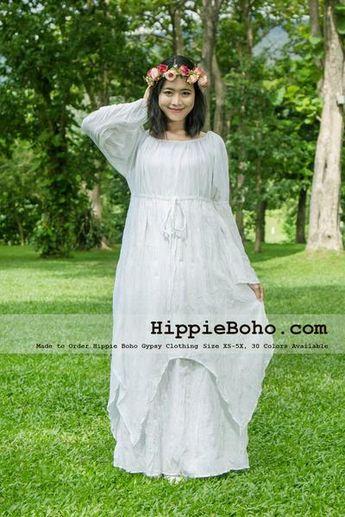 9f6c211ea26 No.041 - Size XS-7X Hippie Boho Clothing Gypsy Long Sleeve Bell Sleeve