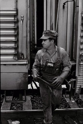 Henri Cartier-Bresson   Train Engineer (/1970c)   Available